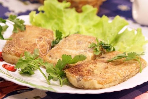 Рецепт Картофельные котлеты с грибами