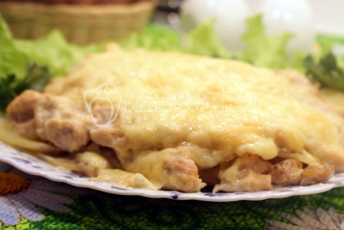 Запеканка картофельная с курицей - рецепт