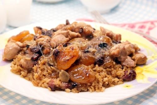 Рис с куриной грудкой - рецепт