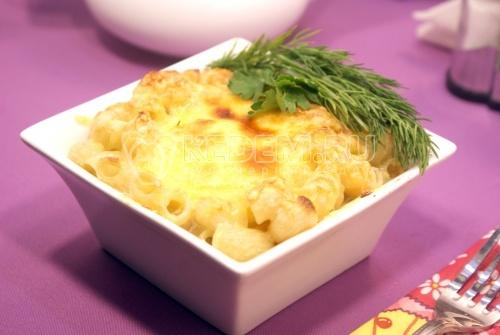 Запеканка из макарон в духовке - рецепт