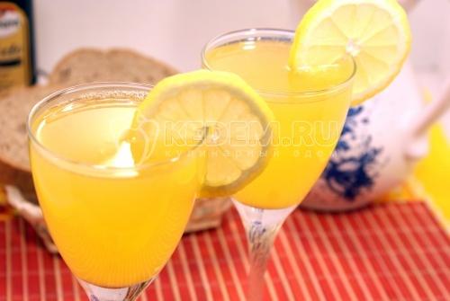 Рецепт Домашний лимонад из лимонов и апельсинов