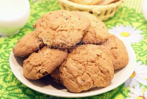 Американское печенье. Кулинарный рецепт с фотографиями приготовления американского печенья