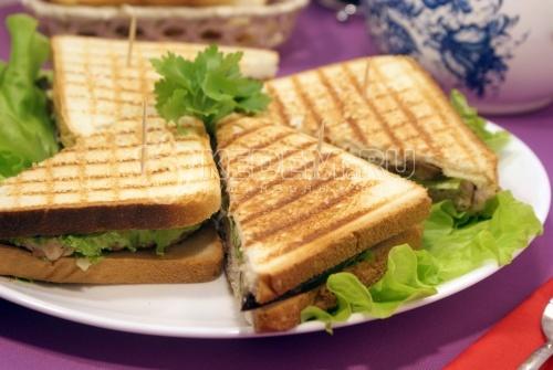 Рецепт Бутерброды с котлетой