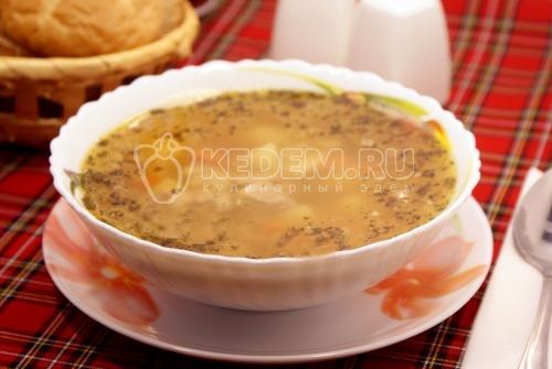 Суп гороховый - рецепт