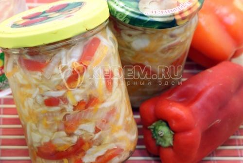 Рецепт Салат овощной на зиму