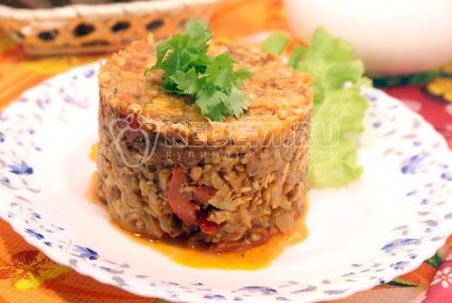 Рецепт Бигус из капусты с рыбой