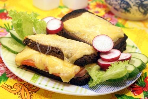 Рецепт Горячий бутерброд с сыром