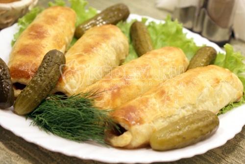 Рецепт Запеченная говядина в тесте