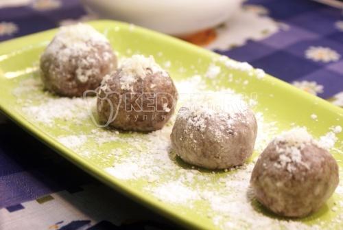 Рецепт Десерт с изюмом и чечевицей
