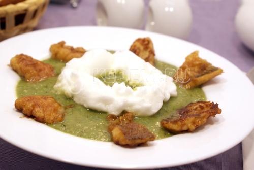Рецепт Суп-пюре из стручковой фасоли с рыбой