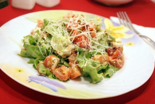 Рецепт Салат с помидорами черри и сыром фета