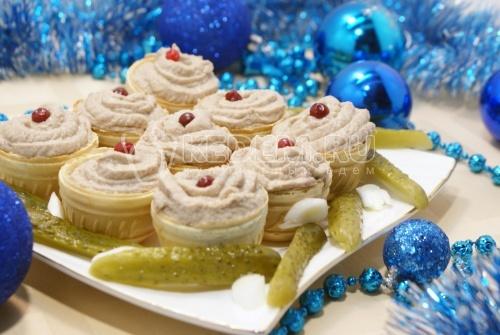 Паштет рыбный «Нежные корзинки». Пошаговый кулинарный рецепт с фотографиями приготовления рыбного паштета на праздничный стол