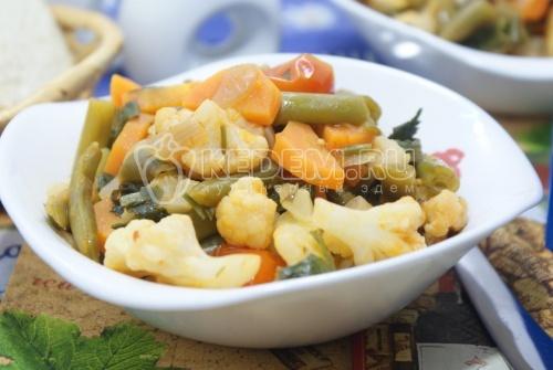 Овощные блюда мультиварке рецепты фото