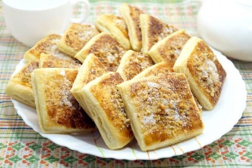 Блюда из слоёного теста – Рецепты из слоёного теста