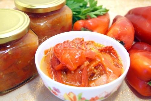 Лечо из болгарского перца на зиму «Как у мамы»