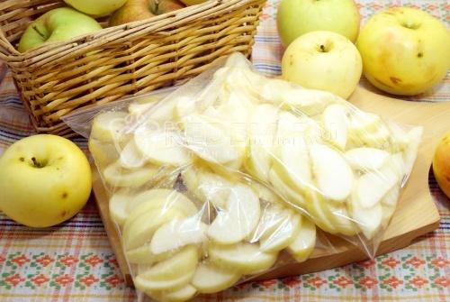 Заморозка яблок «Яблочки для Шарлотты»